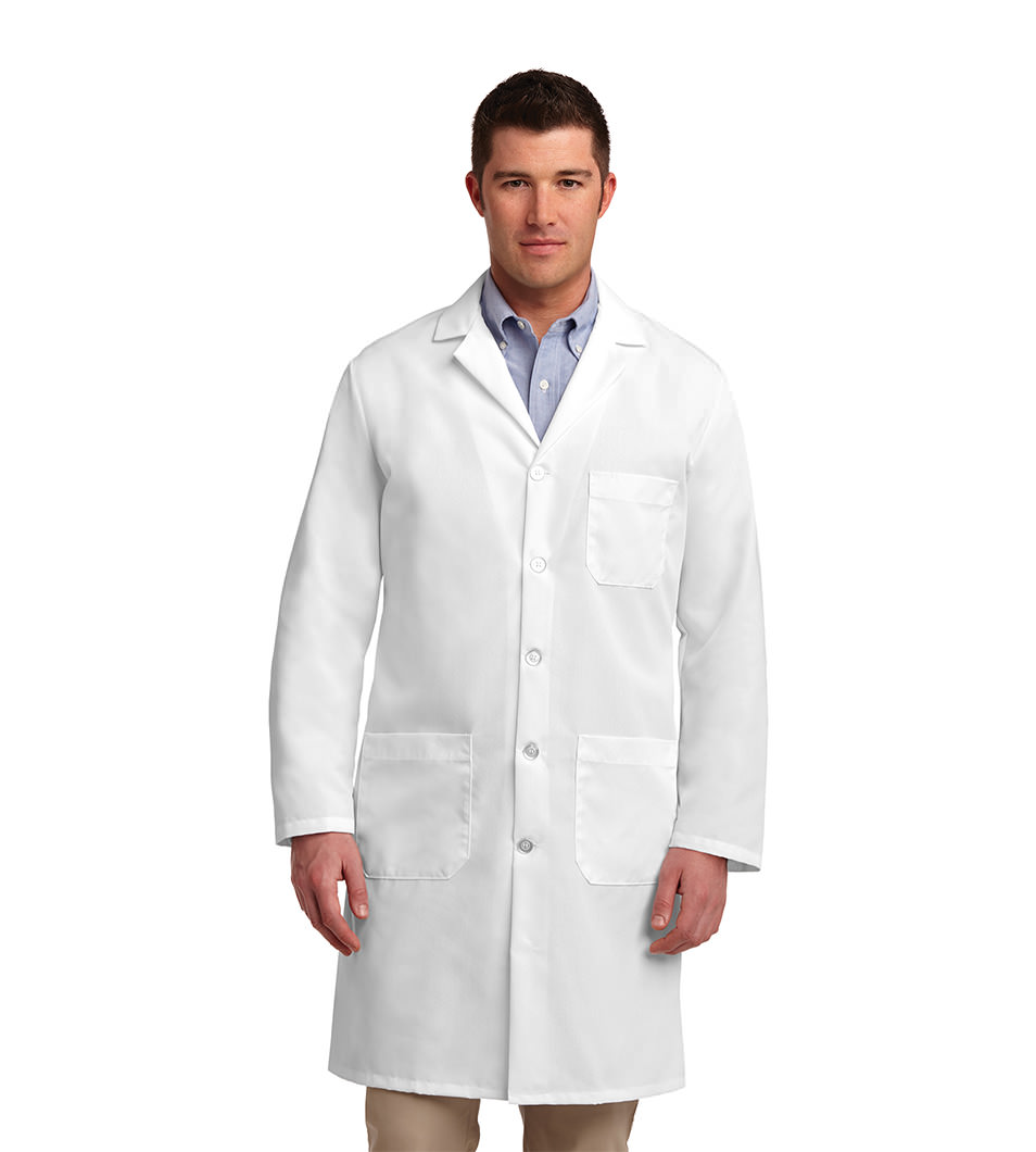 Unisex Lab Coat White