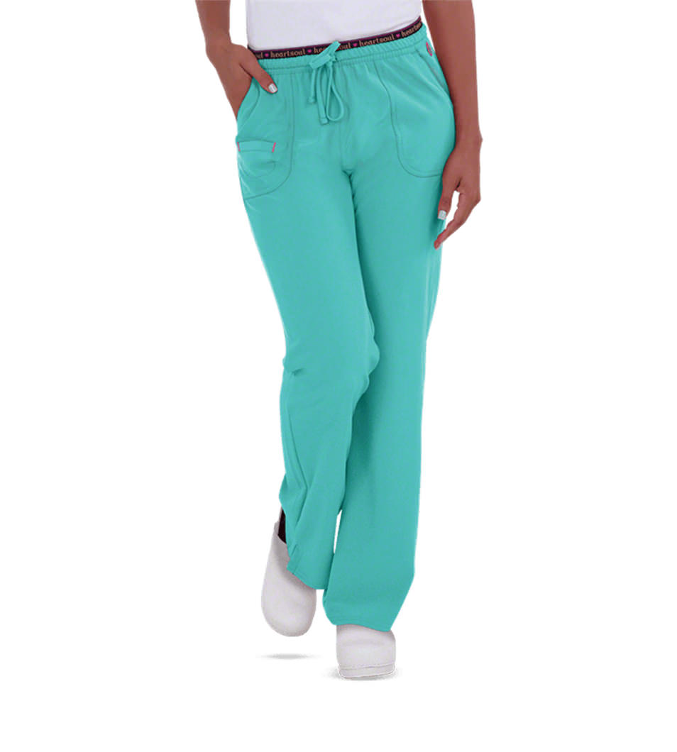 Teal Women's Scrub Pants