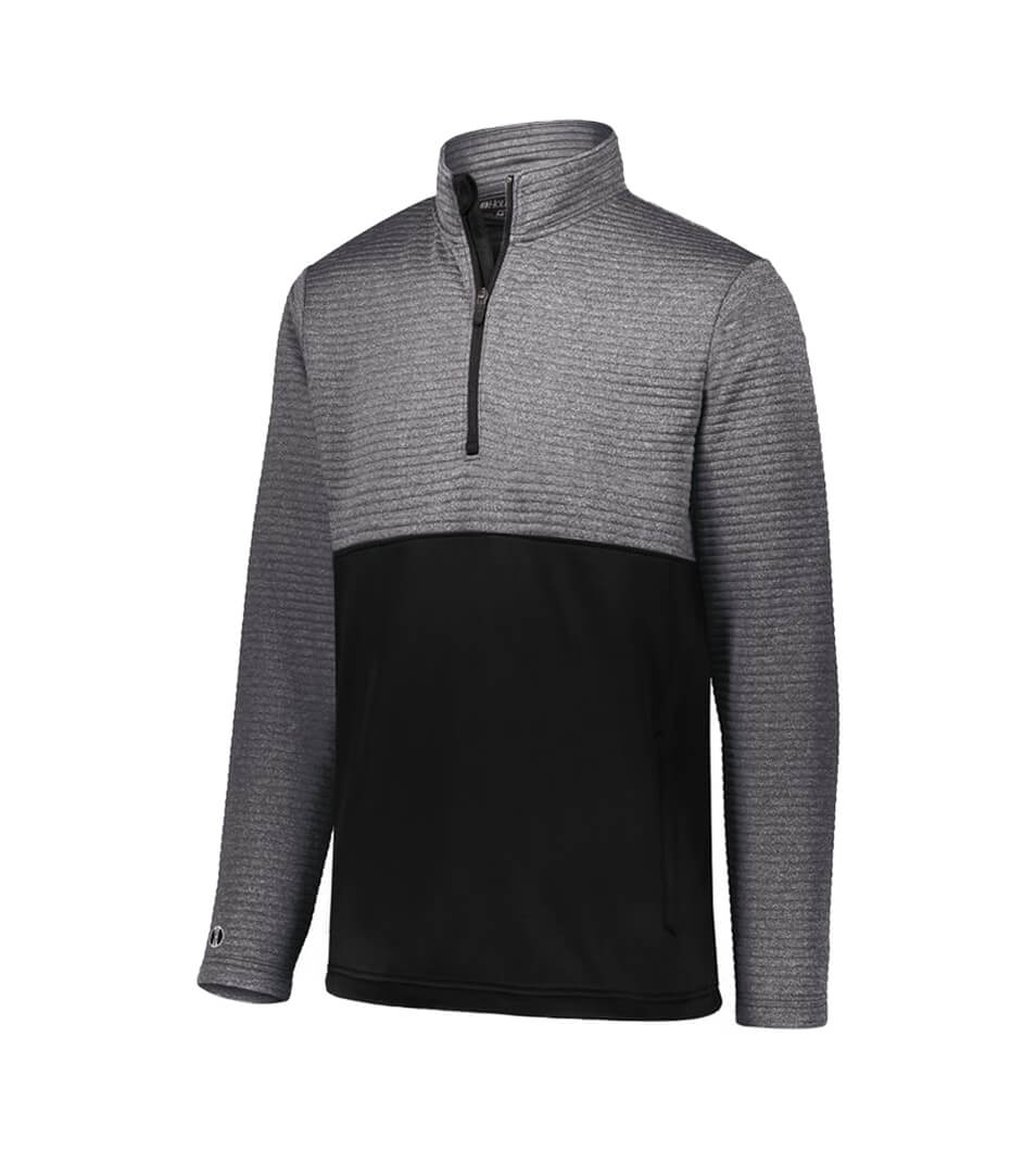 Men's 3D Regulate Pullover Black Heather/Black